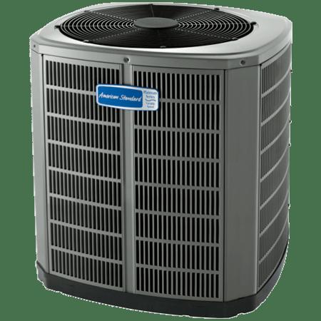 American Standard Variable Speed Platinum 20 Air Conditioner.