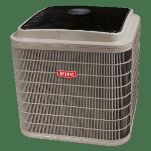 Bryant 180C Evolution Series air conditioner.