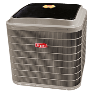 Bryant 186B Evolution Series air conditioner.