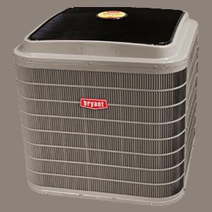 Bryant 187B Evolution Series air conditioner.