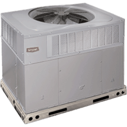 Bryant 677E Preferred Series packaged system.