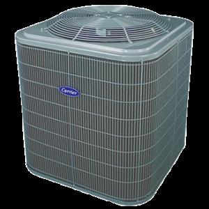 Carrier Comfort 14 heat pump.