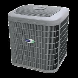 Carrier Infinity 20 heat pump.