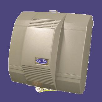 Carrier HUMXXLFP humidifier.