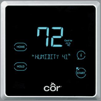 Côr® 7 Thermostat.