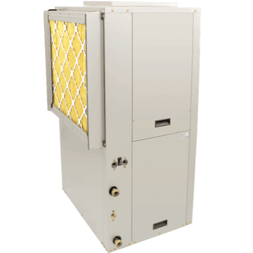 Comfortmaker SoftSound Variable Speed Geothermal Heat Pump.