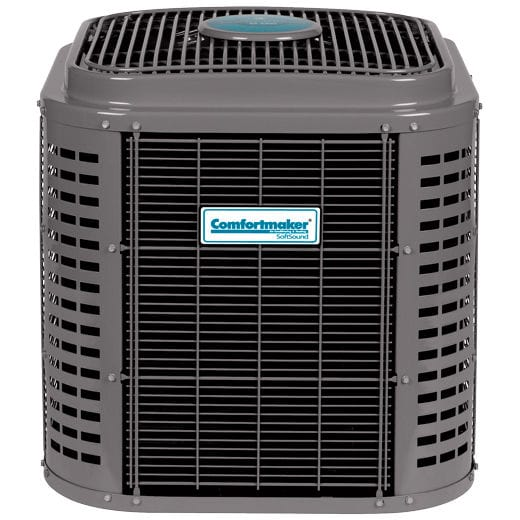 Comfortmaker SoftSound Deluxe 16 Two-Stage Heat Pump.