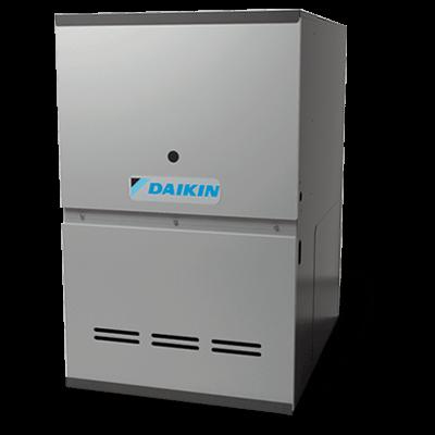 Daikin DC80VC gas furnace.