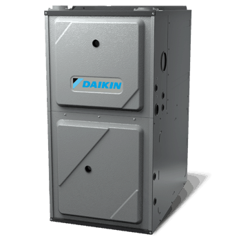 Daikin DM92SS gas furnace.