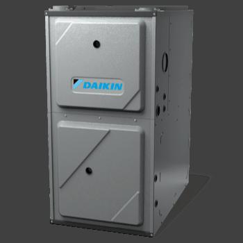 Daikin DM96VE gas furnace.