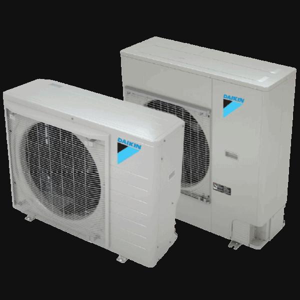 Daikin FIT heat pump.