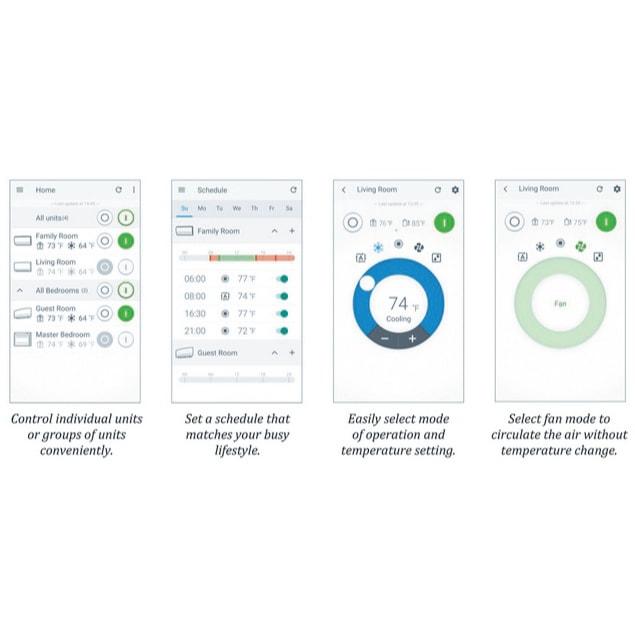 Daikin Comfort Control App.