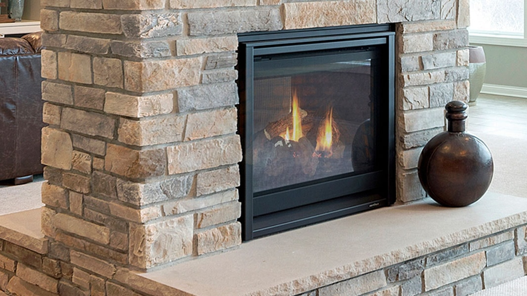 Heat & Glo ST-36TR & ST-36TRB See-Through Gas Fireplaces.
