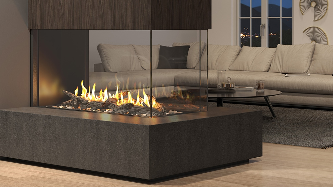 Heat & Glo Foundation Series - Pier Gas Fireplaces.