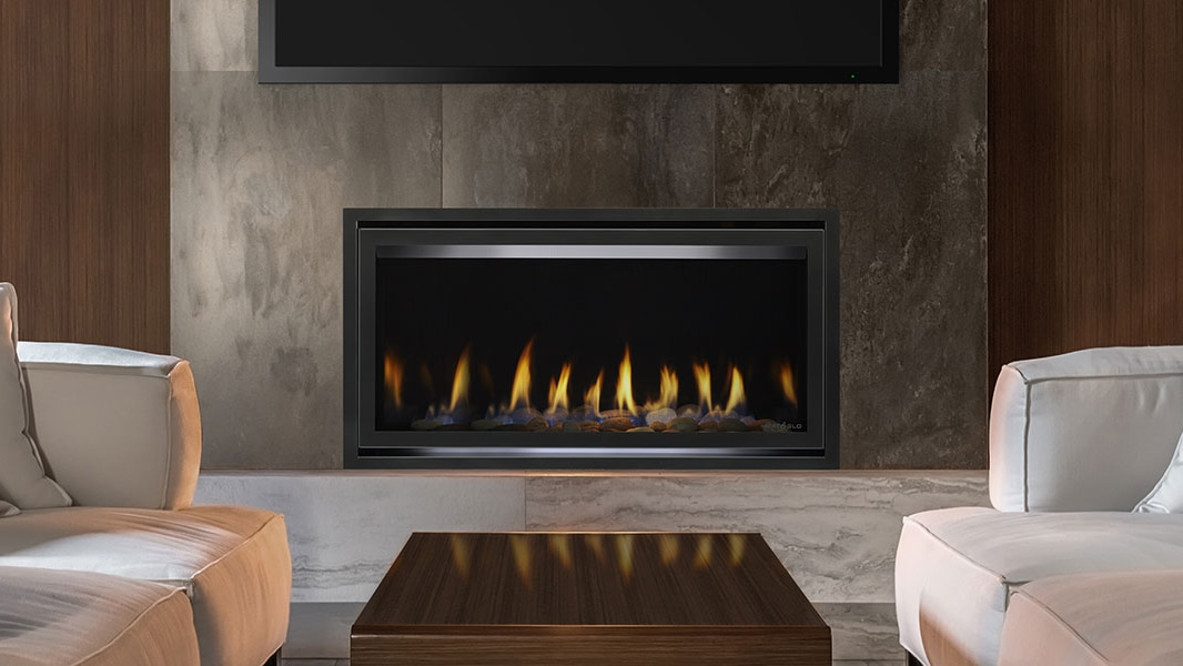 Heat & Glo COSMO Series Gas Fireplace.