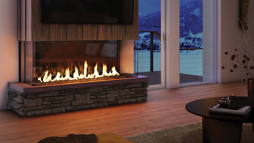 Heat & Glo Foundation Series - Bay Gas Fireplaces.
