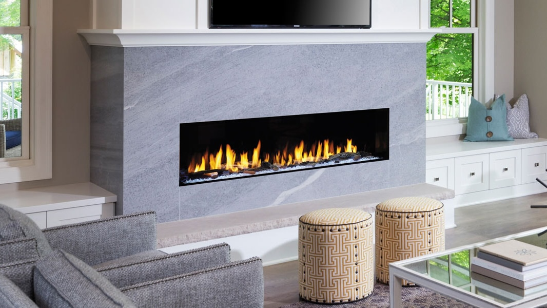 Heat & Glo PRIMO Series Gas Fireplace.