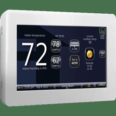 Lennox iComfort Wi-Fi thermostat.