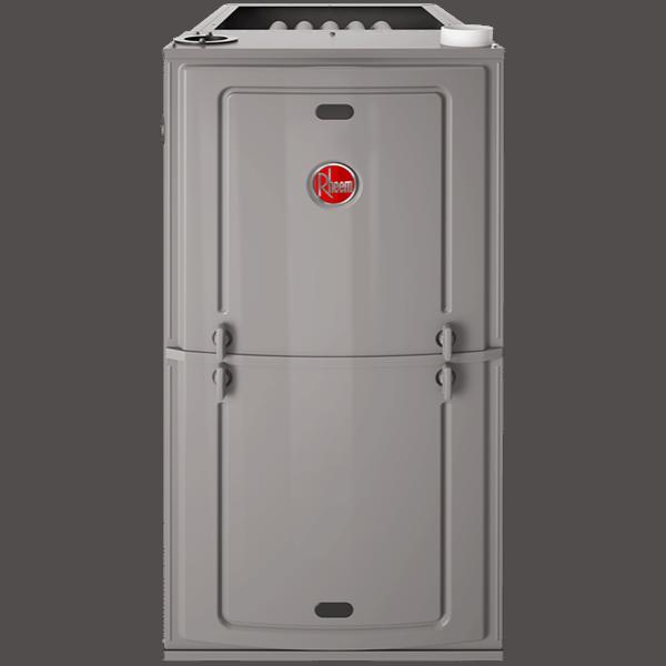 Rheem R92P gas furnace.