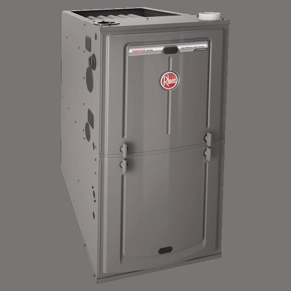 Rheem R96V gas furnace.