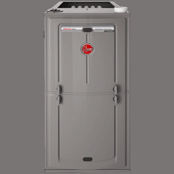 Rheem R97V gas furnace.