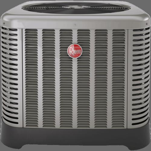Rheem RP14-F heat pump.