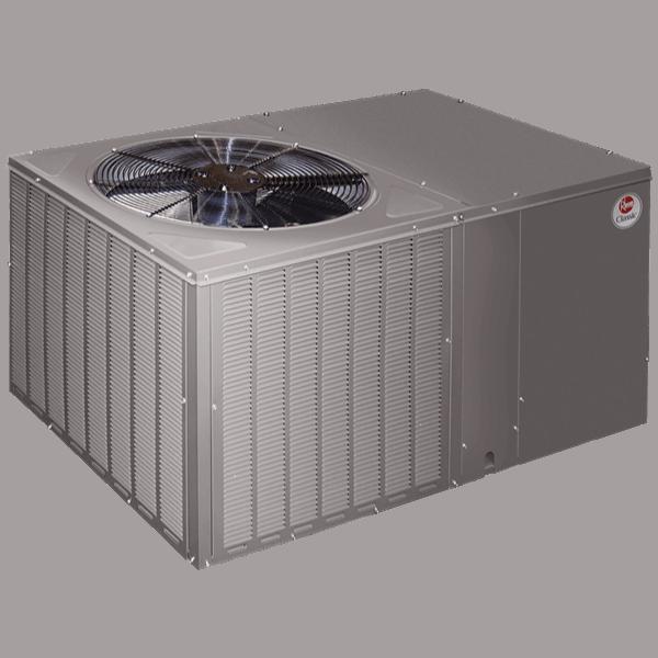Rheem RSPM packaged unit.