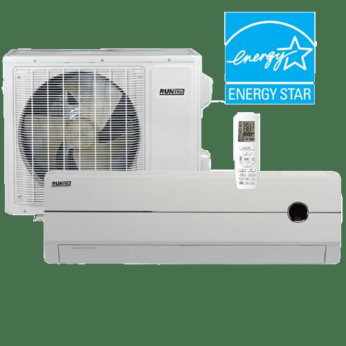 RunTru 115 Volt Single-Zone Ductless System.