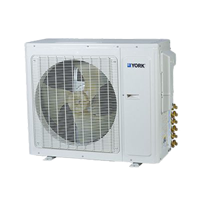 York W Series 22 SEER Multi Zone Mini Split Heat Pump.