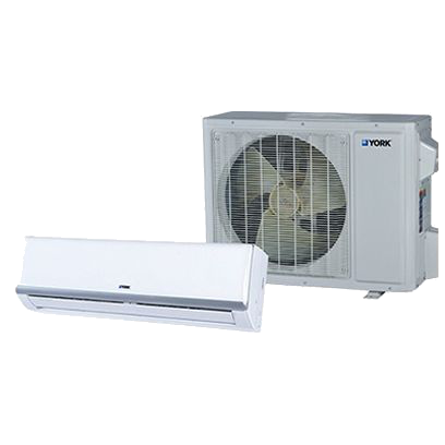 York X Series 23 SEER Single Zone Mini Split Heat Pump System.