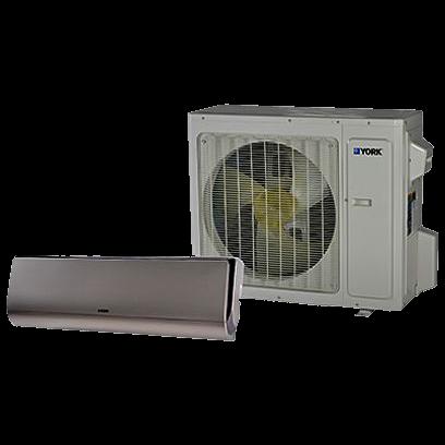 York Z Series 28 SEER Single Zone Mini Split Heat Pump System.