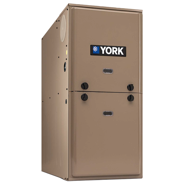 York TL9E 95% AFUE Single Stage Ultra Low NOx Furnace.