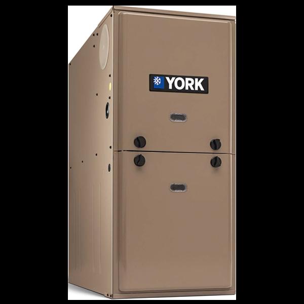 York TM8E 80% AFUE Single Stage Furnace.
