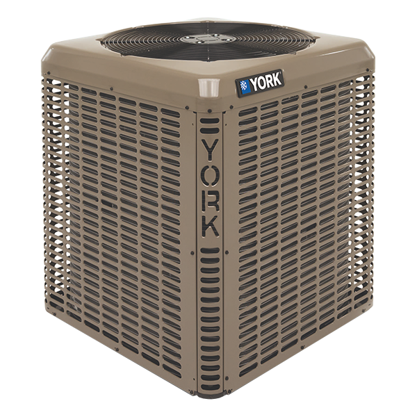 York YHM 16 SEER Modulating Heat Pump.