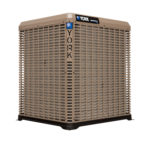 York YZV 20 SEER Variable Capacity Communicating Heat Pump.
