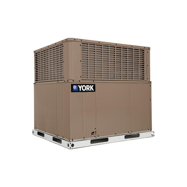 York PHG4 14 SEER Dual Fuel Packaged Heat Pump.